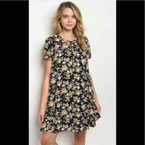 2 for $40❤️black floral dress